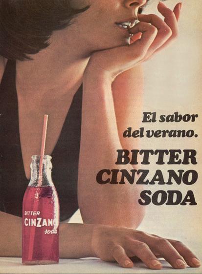 Bitter Cinzano Soda (1972)