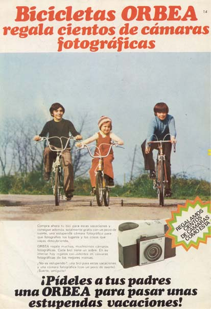 Bicicletas Orbea (1975)