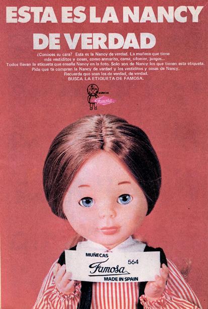 Muñeca Nancy, de Famosa (1974)