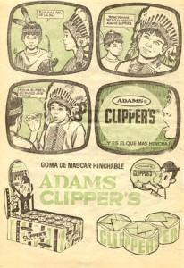 Lee más sobre el artículo Chicle Addams Clipper´s (1964)