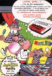 Lee más sobre el artículo Chicles Dunkin (1971)