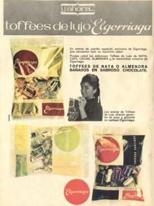 Lee más sobre el artículo Caramelos Toffees de Elgorriaga (1964)