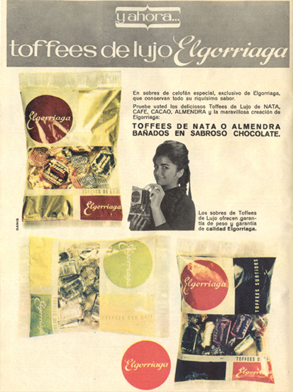 Caramelos Toffees de Elgorriaga (1964)