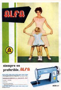 Máquina de Coser Alfa (1960)