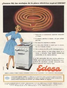 Cocinas Eléctricas Edesa (1960)
