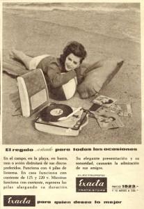 Electrófono Tocadiscos Exacta (1961)
