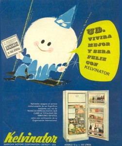 Nevera Frigorífico Kelvinator (1963)