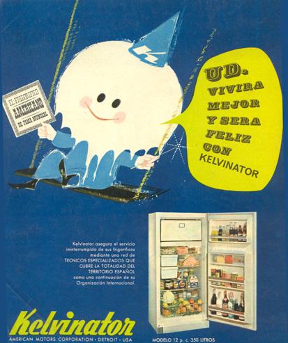 En este momento estás viendo Nevera Frigorífico Kelvinator (1963)