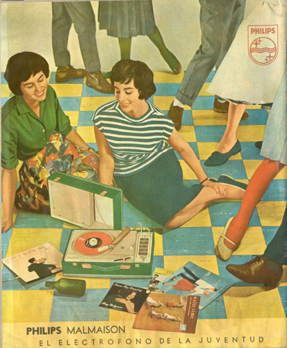 Tocadiscos Philips (1963)