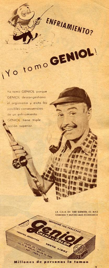 Analgésico Geniol (1963)