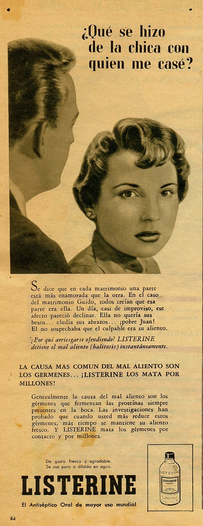Enjuague Bucal Listerine (1961)
