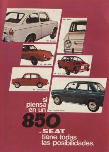 Lee más sobre el artículo Seat 850 (1971)