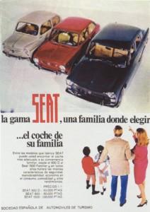 Lee más sobre el artículo Seat 600, 850 y 1500 (1967)