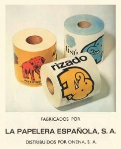 Papel higiénico Elefante (1969)