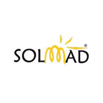 Logo Solmad208 - Caligrama Comunicación