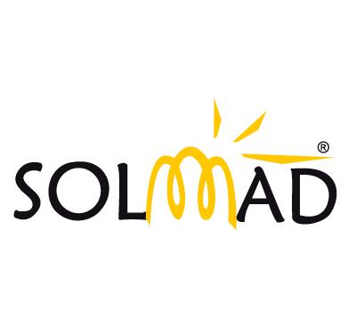 Logo Solmad opt - Caligrama Comunicación